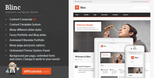 Blinc - Premium WordPress Theme