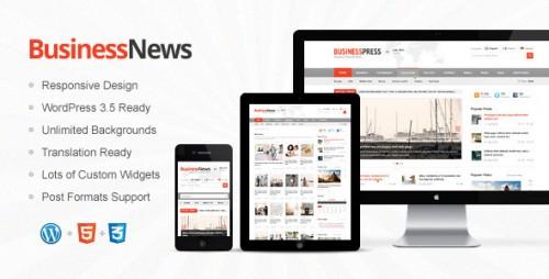Business News - Responsive Magazine, News, Blog