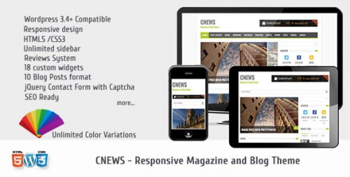 CNEWS - Magazine and Blog Theme
