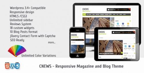 CNEWS - Magazine and Blog Theme