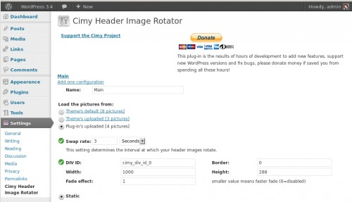 rotating header image wordpress thesis Wp splash image is a plugin for wordpress to display picture byob thesis simple header widgets plugin allows you to combine widgets rotating header plugin.