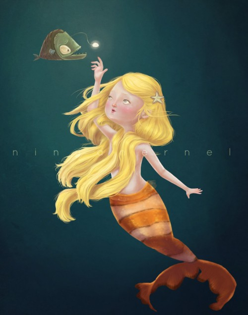 Cool Mermaid Artwork