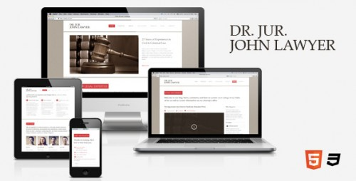Dr. Lawyer – HTML5 One-Page Theme