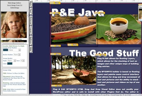 Drag And Drop HTML Visual Editor