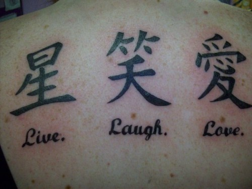 Elegant Back Tattoos