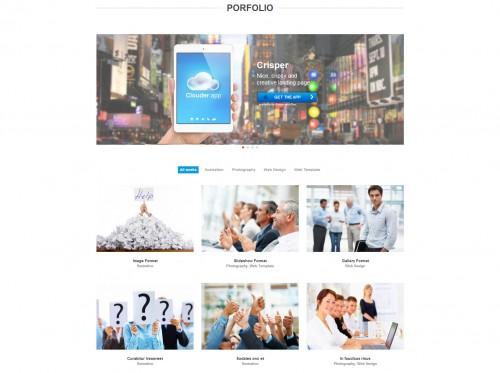 Fresh Portfolio Onepage Theme