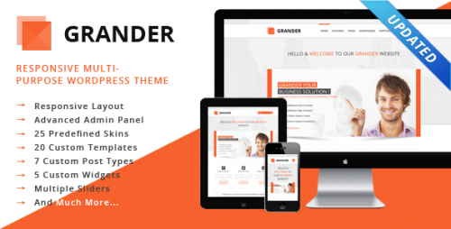 GRANDER Responsive WordPress Theme