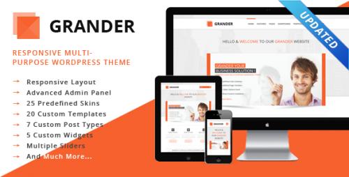 GRANDER Responsive WordPress Theme