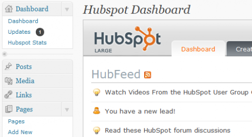 HubSpot for WordPress