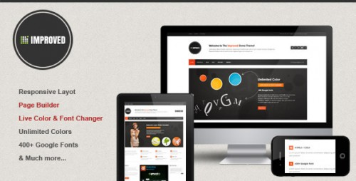 Improved - Multipurpose WordPress Theme