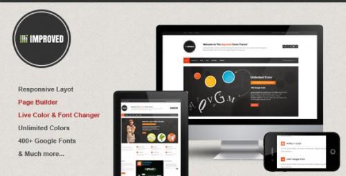 Improved - Multipurpose WordPress Theme