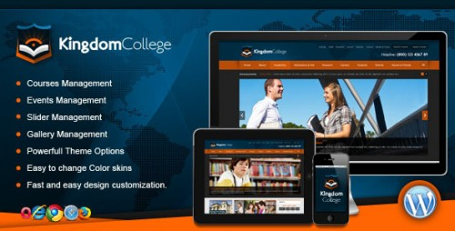 Kingdom College - Educational WP Theme