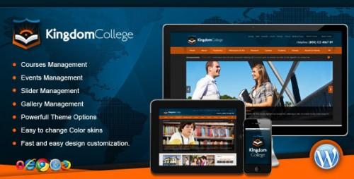 Kingdom College - Educational WP Theme