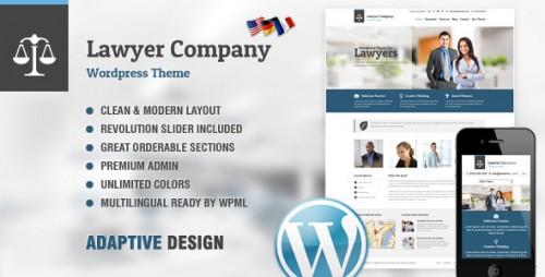Lawyer - Adaptive WordPress Theme