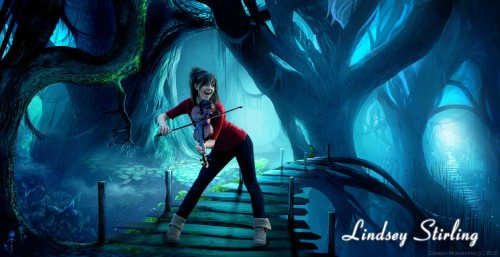 Lindsey Stirling Photo Manipulation