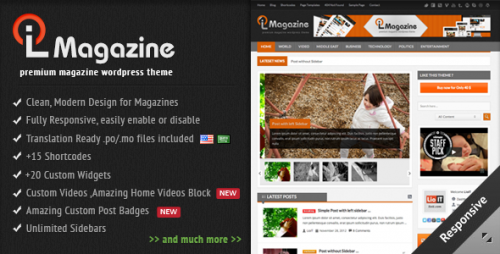 LioMagazine - WordPress News/Magazine
