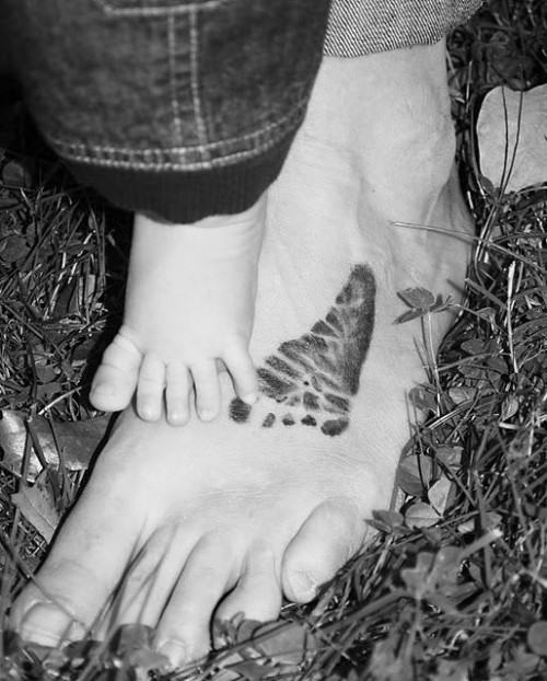 Little Footprint Tattoos