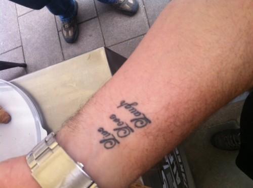 Live Laugh Love Tattoo..Dedicated