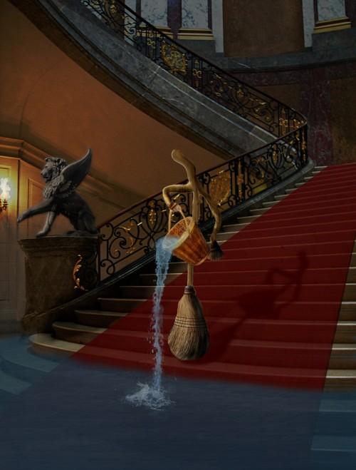 Magician's Apprentice Scene