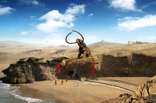 Mammoth Photo Manipulation