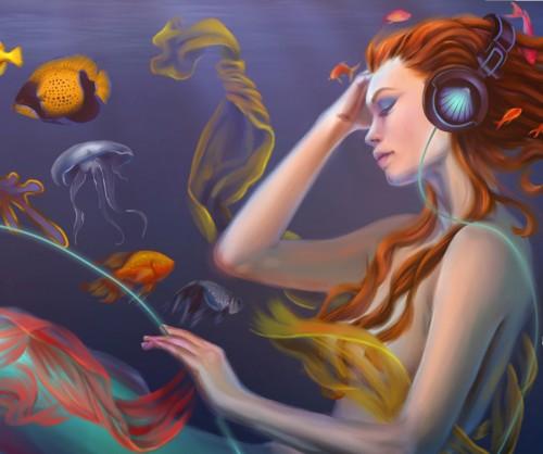 Mermaid Close-up