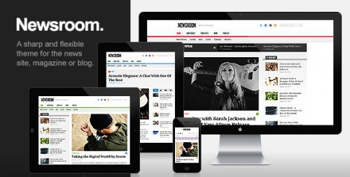 Newsroom - News & Magazine Theme