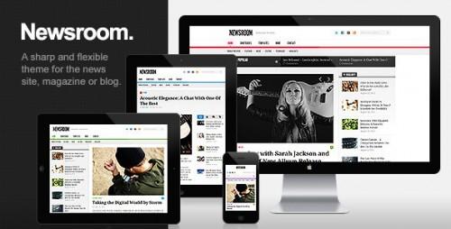 Newsroom - News & Magazine Theme
