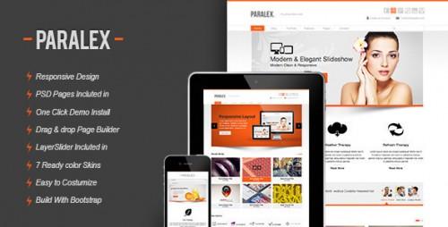 Paralex Responsive WP Theme