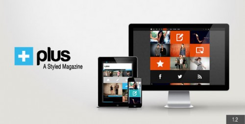 Plus Grid Responsive Magazine Theme