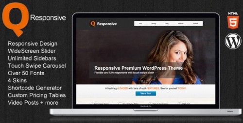 Q Premium WordPress Theme