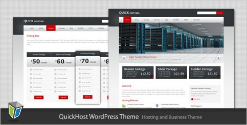 Quick Host - Hosting WordPress Theme