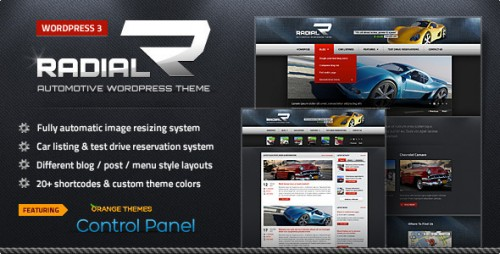 Radial - Automotive & Tech WP Theme