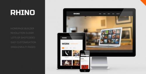 Rhino - Single Page Responsive Theme