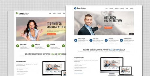 SmartGroup Marketing WordPress Theme