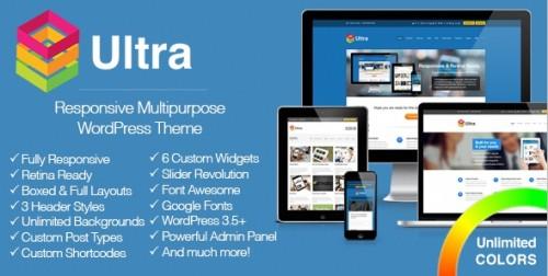 Ultra - Responsive Multipurpose WordPress Theme