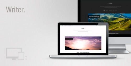Writer Responsive WordPress Theme