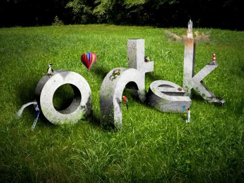 3D Typography - Artek