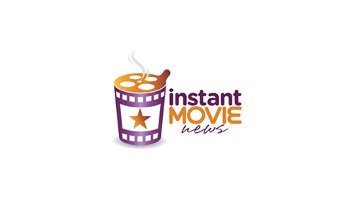 Instant Movie News - film logo designs