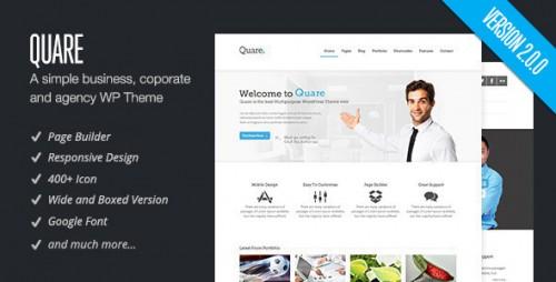 Quare - Responsive Multi-Purpose Theme