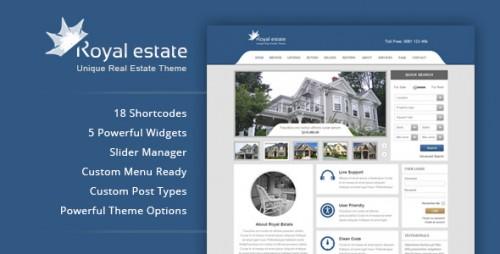 Royal Estate - Premium Real Estate Theme