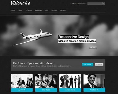 Visionaire - Responsive Business Theme