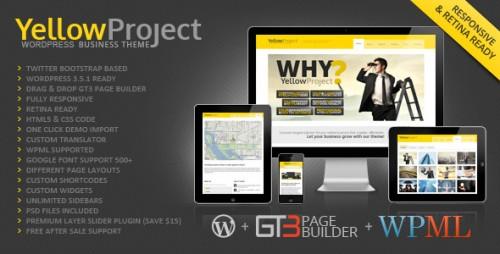 YellowProject Retina WP Theme