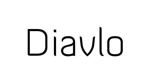 DiavloLight-Regular Font