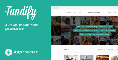 Fundify - Crowd Funding WP Theme