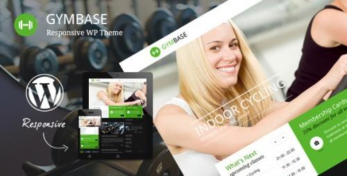 GymBase - Responsive Gym Fitness Theme