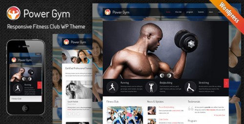 Power Gym - Responsive WP Theme
