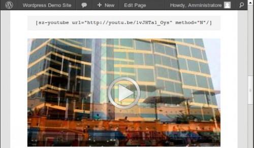 SZ - Video for WordPress
