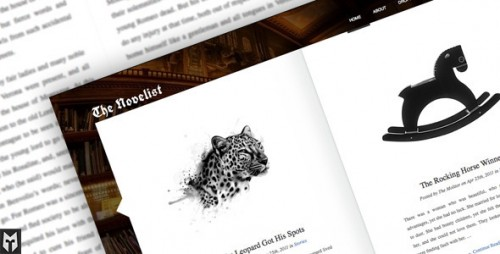 The Novelist - Responsive Theme for Writers