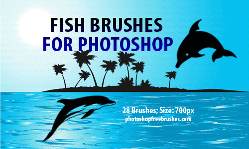 28 Fish Clip Art Brushes