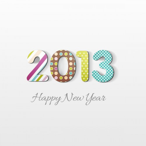 Create Happy New Year 2013 Card in Photoshop CS6